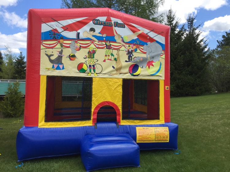 Circus Fun Bouncy House