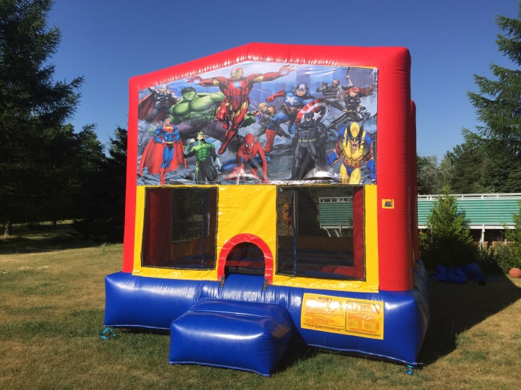 Super hero Bouncy House
